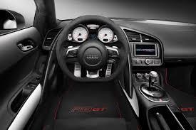audi r8 automatic audi r8 gt suzuka grey interior cabin eurocar