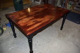 Black Distressed Kitchen Table Brockhurststudcom - Distressed kitchen tables