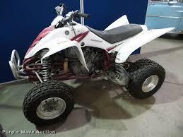 2005 yamaha raptor 350 atv item bv9357 sold october 18