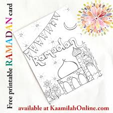 kids ramadan and eid activities islamic art kaamilah online