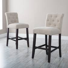 Industrial Metal Kitchen Chairs Kitchen Upholstered Bar Stools Tufted Leather Stool Best Today