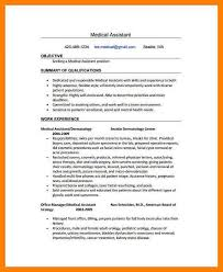 Sample Resume For Healthcare Assistant by 8 Medical Assistant Sample Resume Packaging Clerks