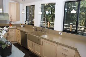 Cement Kitchen Countertops Concrete Countertops For The Kitchen And Bath From Sonoma Cast Stone
