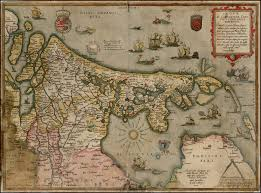 Map Of The Netherlands Gerard De Jode U0027s Map Of The Netherlands From The 1578 Edition Of