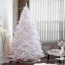 decoration white pre lit tree mountain king 7 5