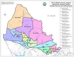 Virginia House Of Delegates District Map by Gainesville Magisterial District U2013 Prince William County