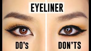 Eye Liner 12 common eyeliner mistakes you could be do s and dont s