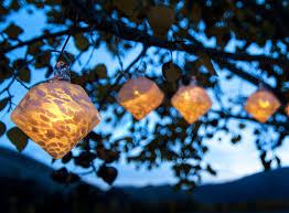 solar string lights glow white diamond solar string lights allsop home garden