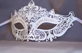 metal masquerade mask snow white laser cut metal masquerade mask fit for masquerade