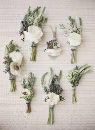 fleurs blanches mariage bouquet de fleurs blanches pour invités 25 bouquets de fleurs