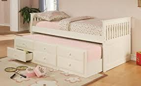 amazon com coaster fine furniture 300107 mission style day bed