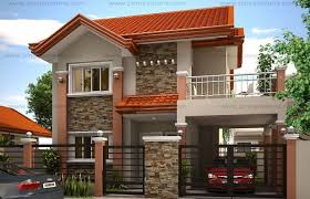 2 storey house plans small modern two story house plan and layout with three bedrooms