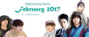 film korea rating terbaik rating drama korea bulan februari 2017 review drama asia