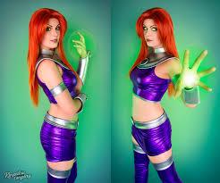 Starfire Costume Teen Titans Making Raven U0027s Belt And Starfire U0027s Armor