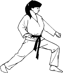karate basic form coloring pages batch coloring