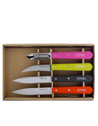 opinel essentials knives fifties set of 4 knives u0026 cutlery