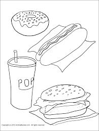 13 images of healthy vs unhealthy coloring pages healthy