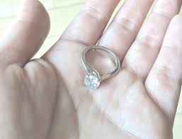 fiancee ring property brothers drew engagement ring to phan