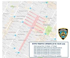 Manhattan Street Map Map Updated Street Closures In Manhattan After Explosion In