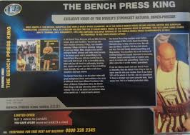 World Bench Press Record Holder La Muscle Mikejosephofficial