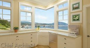 Chief Architect Kitchen Design by Kitchen Design Corner Window Caurora Com Just All About Windows