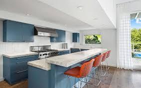 blue countertop kitchen ideas 27 blue kitchen ideas pictures of decor paint cabinet designs