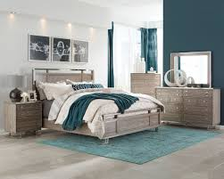 Modern Chic Bedroom by Donny Osmond Home Johnathan 205191 City Chic Modern Bedroom Set