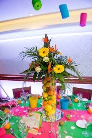 caribbean party decorations ideas party table decorations