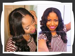 Glue In Weave Hairstyles Fade Haircut