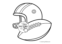 sport coloring page for kids printable free