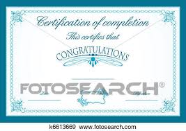 clip art of certificate template k6613669 search clipart