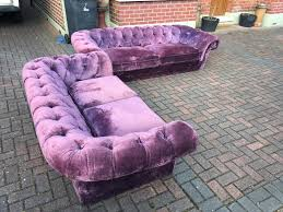 Chesterfield Sofa Manchester by Velvet Chesterfield Sofa Suite Del Available In Manchester City