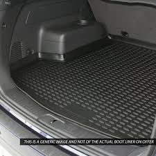 bmw 3 series boot liner novline bmw 3 series e90 saloon 2006 2012 black boot liner