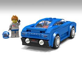ferrari lego speed champions lego ideas bugatti eb110 lego speed champions