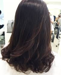 hair cut with a defined point in the back new year old perm and magic review of mosche hair salon