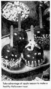 thanksgiving day 1976 caramel apples u0026 caramel popcorn sweet halloween treats 1976