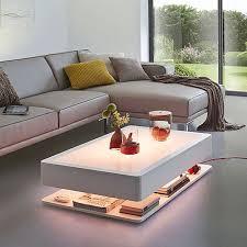 Coffee Tables With Led Lights Mesas De Centro Blancas Modernas Buscar Con Cocinas