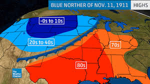 us weather map cold fronts one of the most notorious cold fronts in american history dropped