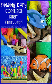 Party Centerpieces Finding Dory Coral Reef Party Centerpiece