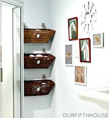Creative Ideas For Small Bathrooms 25 Best Ideas About Small Bathroom Storage On Pinterest Diy Decor