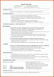 event coordinator resume resume name