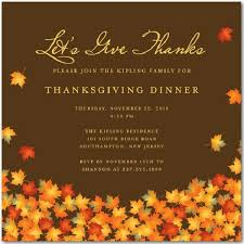 invitations enchanting thanksgiving invitations