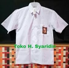 Seragam Sekolah Lengan Panjang kemeja sma tangan panjang polos size m seragam sekolah atasan