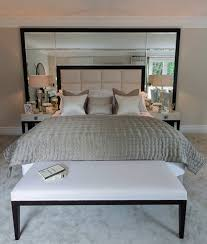Mirror Bed Frame Make Bedroom With Mirror Bed Headboard