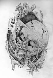 skull rip out by twistedxdesign on deviantart