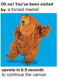 Meme Bear - bear in the big blue house know your meme