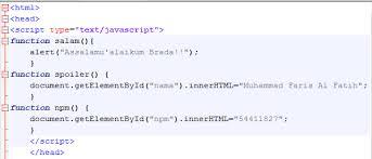 membuat web sederhana dengan javascript cara membuat kotak username dan password sederhana menggunakan