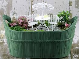 Flower Pot Arrangements For The Patio Fairy Garden Supplies Miniature Fairy Garden Ideas