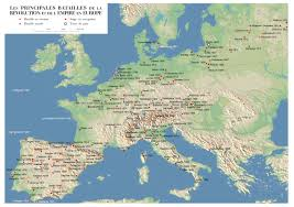 Europe 1815 Map by Home