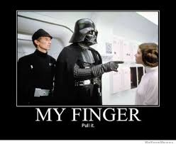 Darth Vader Meme - my finger pull it weknowmemes